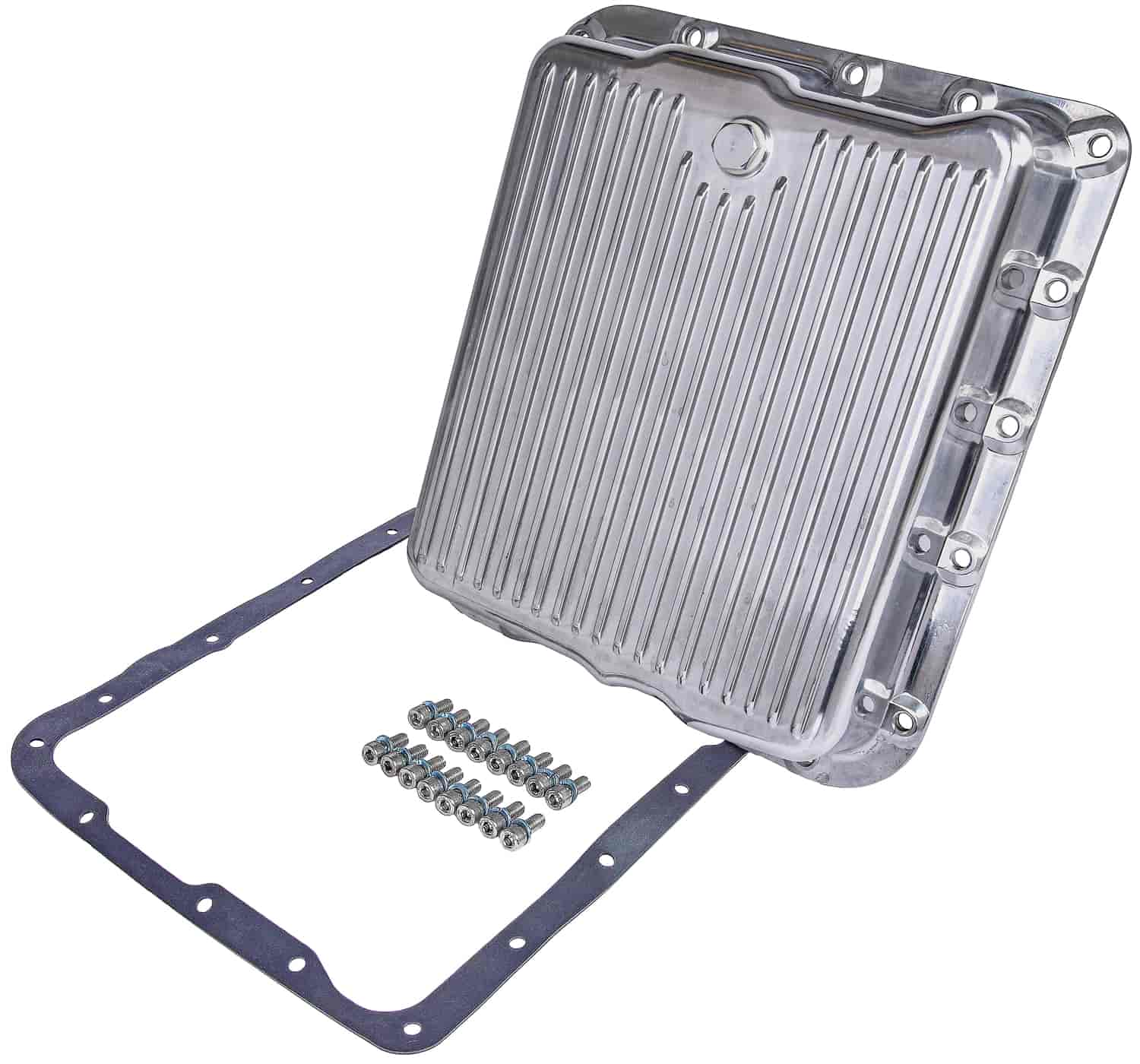 JEGS Performance Products 60183 - JEGS Polished Aluminum Transmission Pans