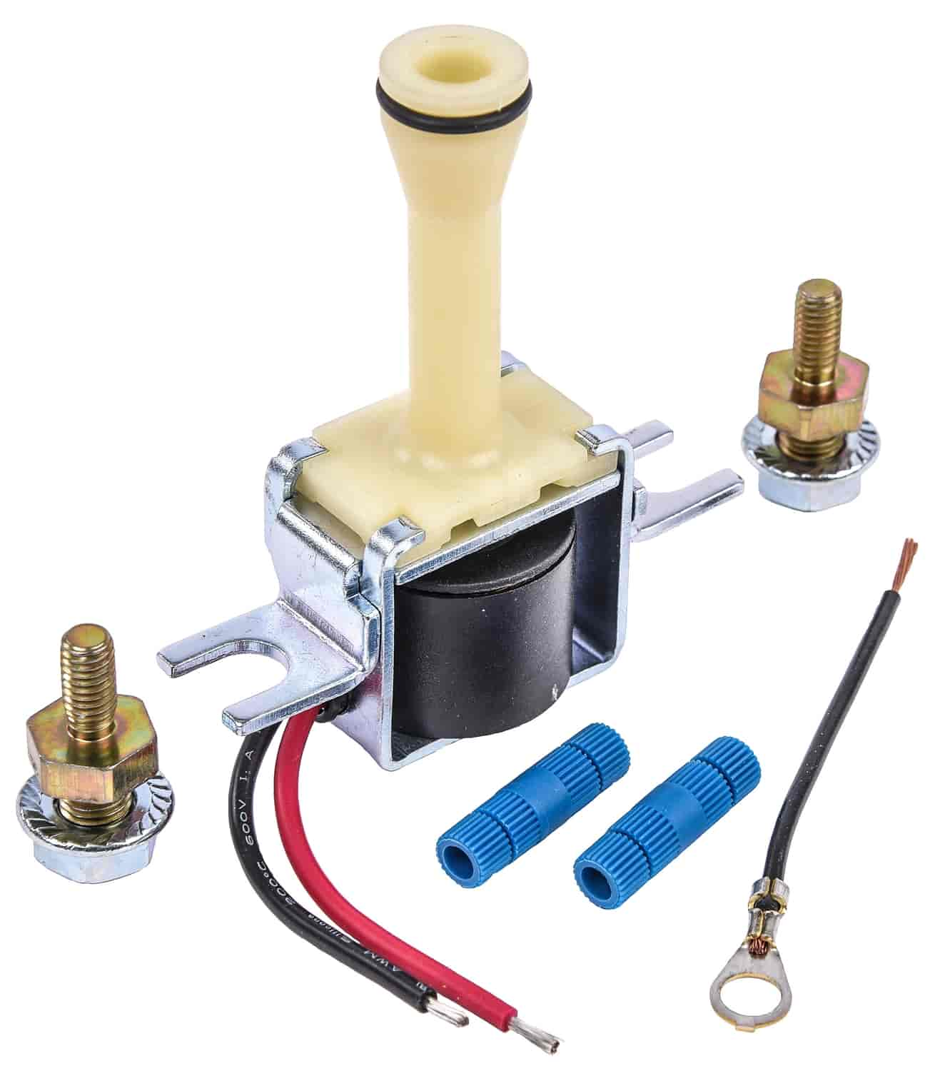 JEGS Lock-Up Solenoid Replacement for GM 700-R4, 200-4R, and 4L60E [2-Wire  TCC]
