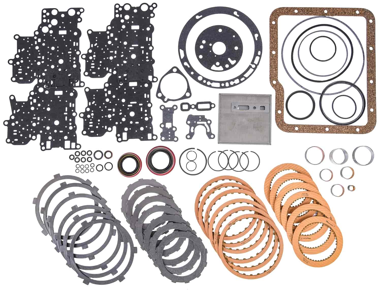 Aluminum PowerGlide Transmission Master Rebuild Kit 1962-1973