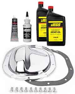 JEGS Performance Products 62500K - JEGS Chrome Rear Differential Covers