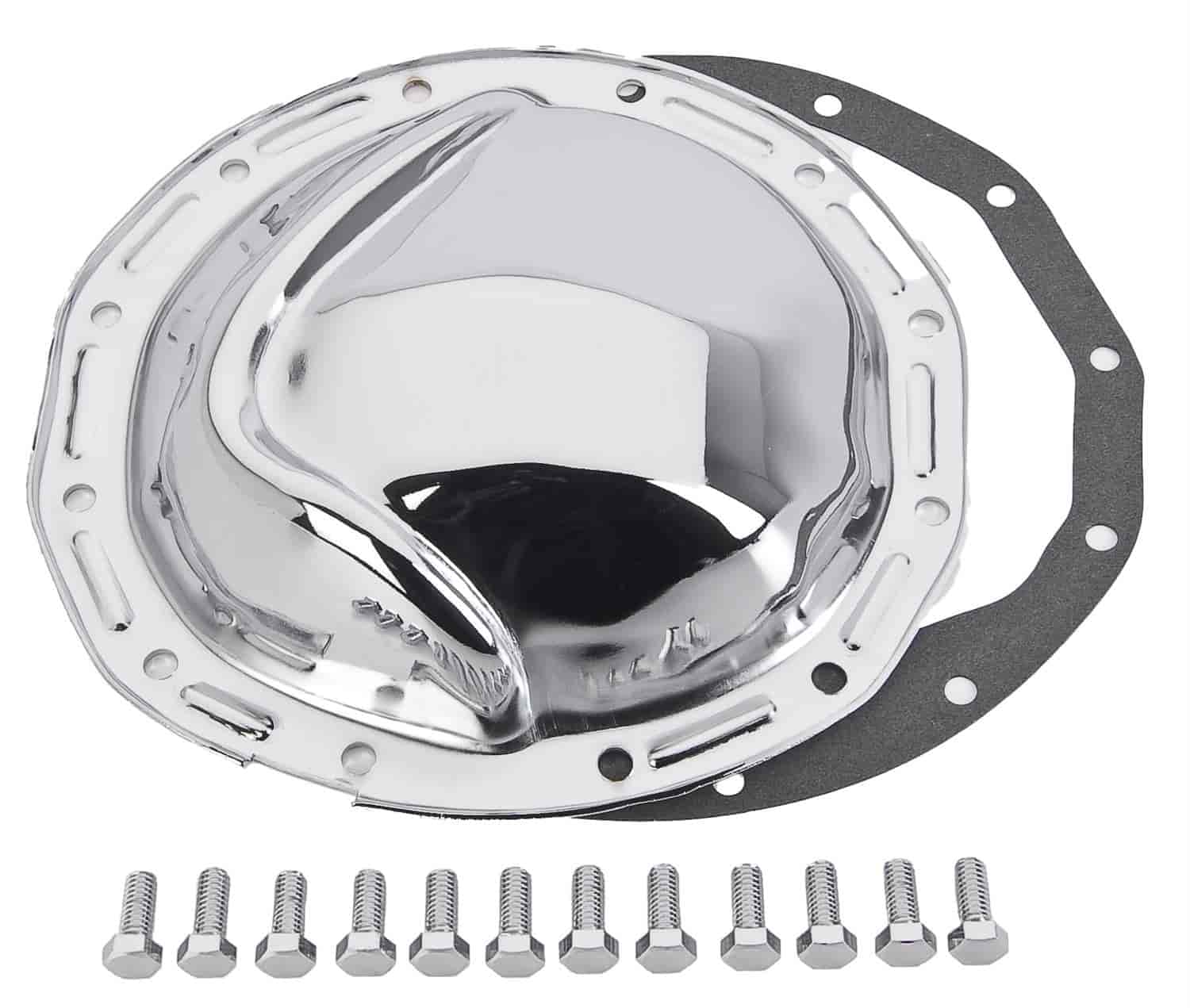 JEGS Performance Products 62512 - JEGS Chrome Rear Differential Covers