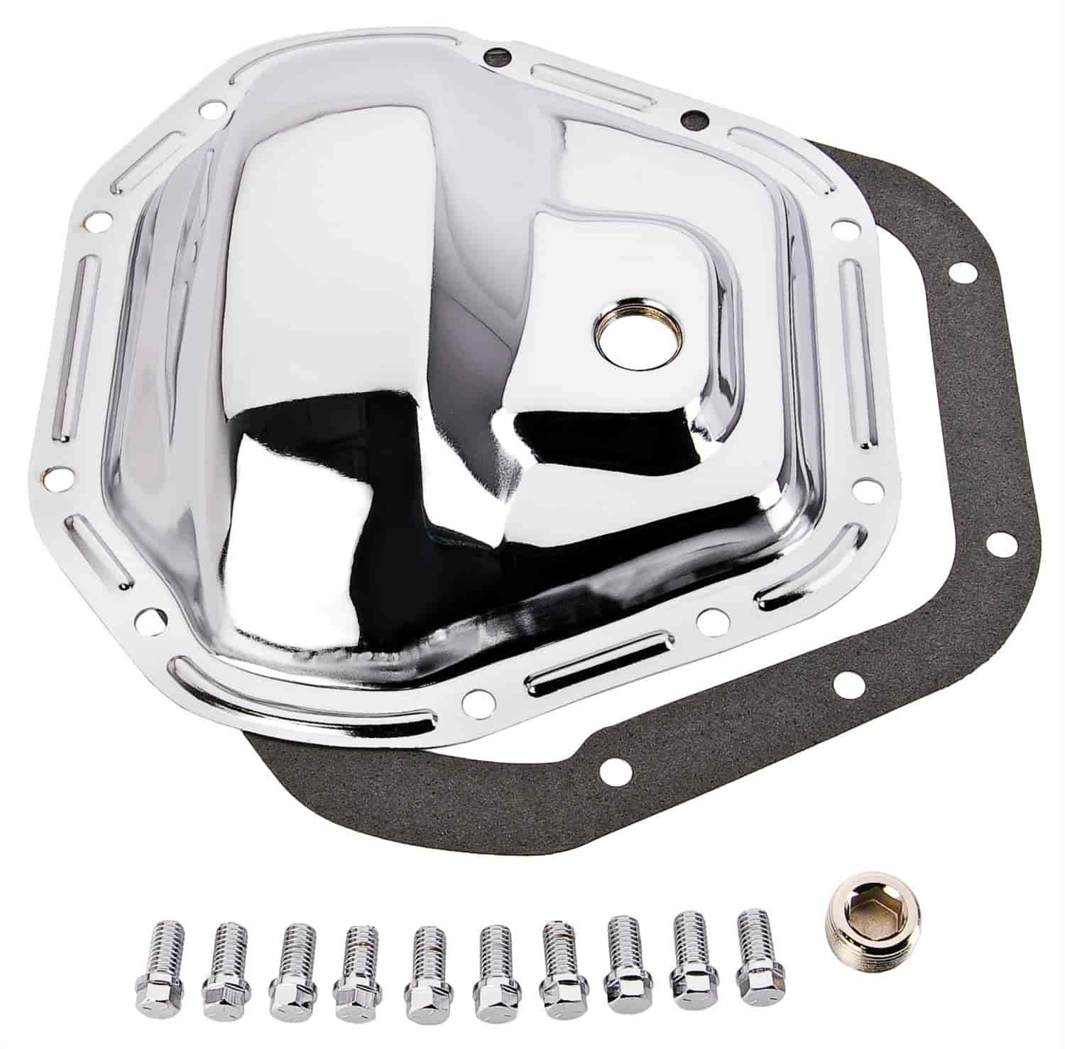 JEGS Performance Products 62520 - JEGS Chrome Rear Differential Covers
