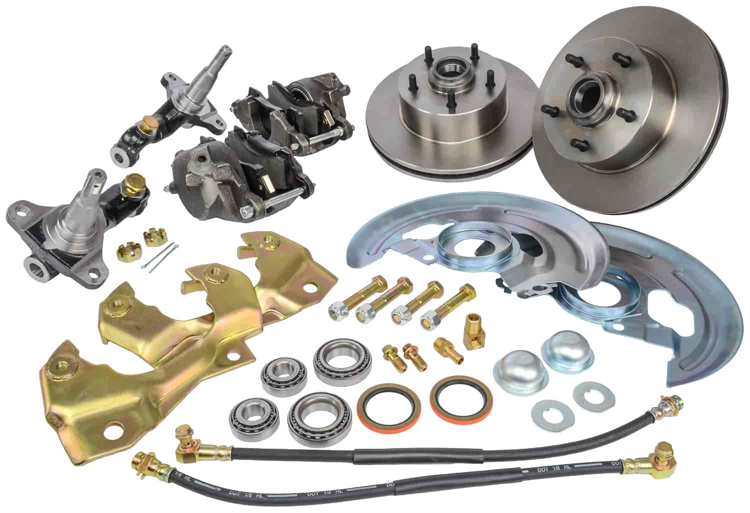 JEGS Performance Products 630000 - JEGS Front Disc Brake Conversion Kits