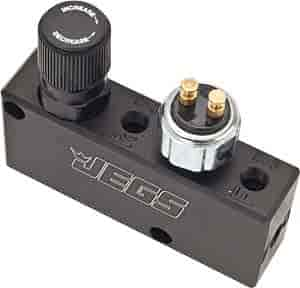 JEGS Performance Products 63025 - JEGS Adjustable Proportioning Valve and Distribution Block