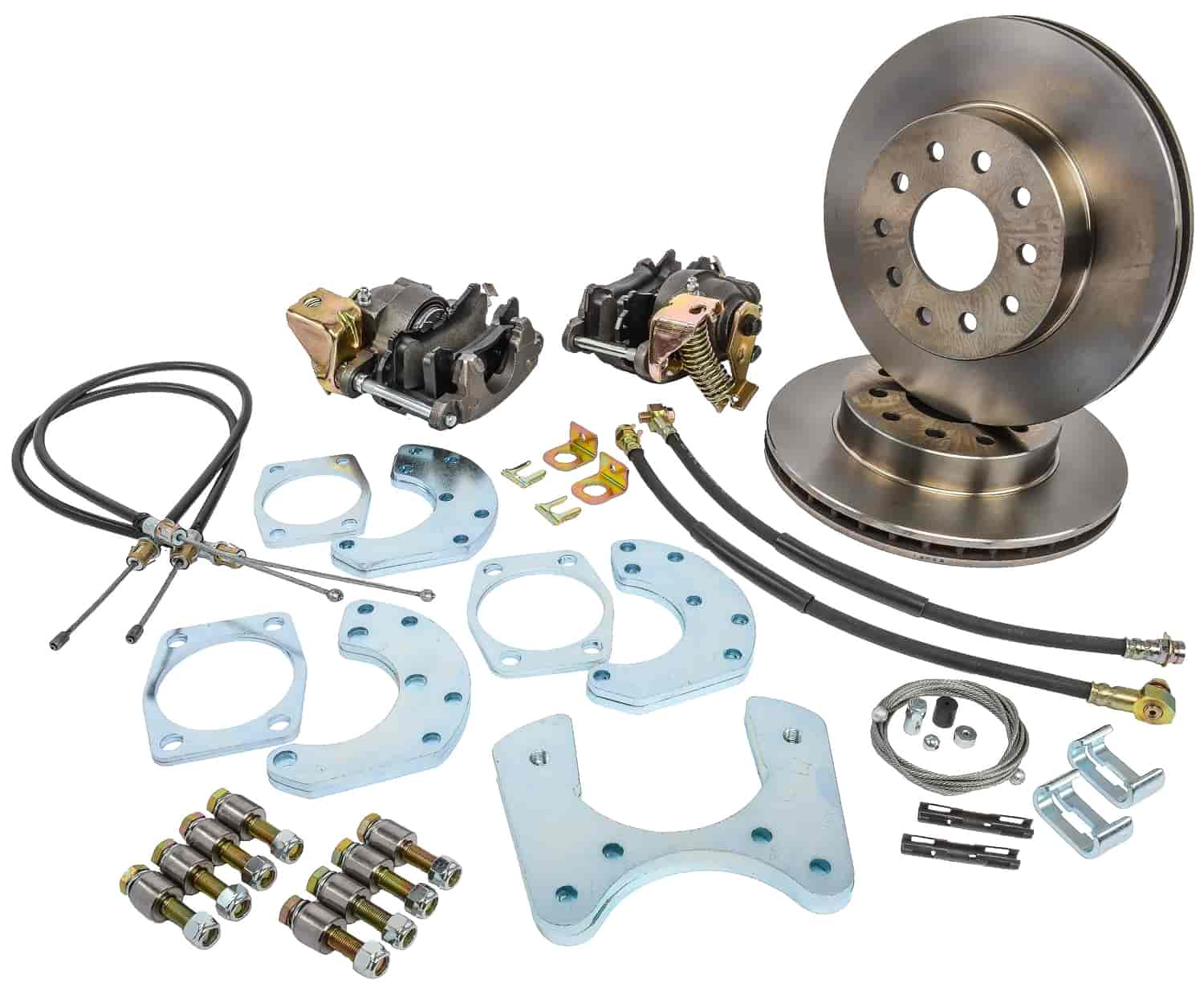 JEGS Performance Products 630600 - JEGS 9'' Ford Rear Disc Conversion Kits