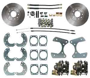 JEGS Performance Products 630602 - JEGS 9'' Ford Rear Disc Conversion Kits