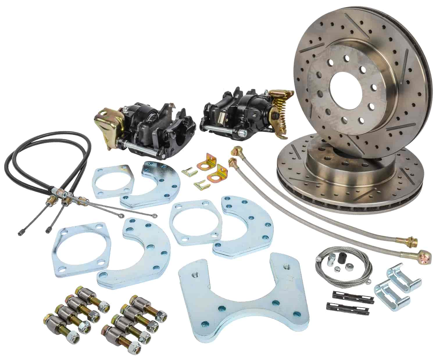 JEGS Performance Products 630603 - JEGS 9'' Ford Rear Disc Conversion Kits
