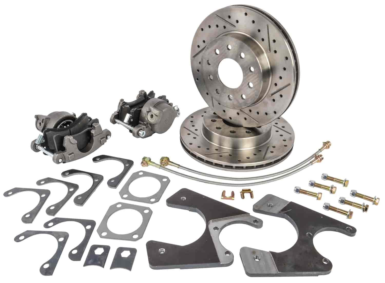 Single Axle Rear Centric 908.62536 Disc Brake Pad and Rotor Kit-Select Pack