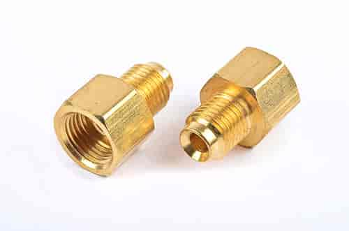 Jegs brass adapter fitting in male thread