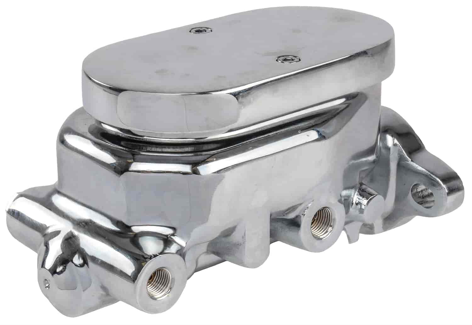 JEGS Chrome Master Cylinder GM Universal Mounting