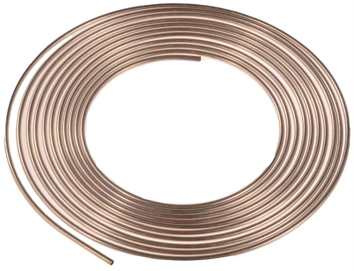JEGS NiCopp Tubing Coil 3/16 in  x 25 ft