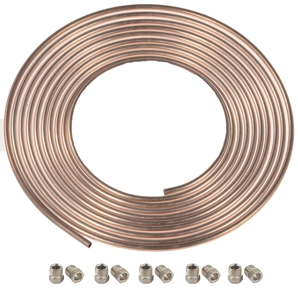Hose, Lines & Fittings JEGS 635810 NiCopp Tube Nuts Replacement Parts