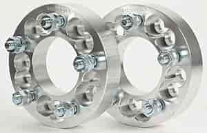 JEGS Performance Products 65093 - JEGS 5-Lug Billet Dual Pattern Wheel Adapters