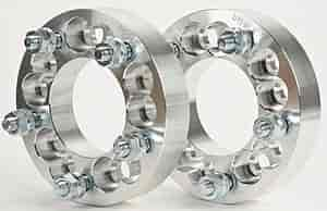 JEGS Performance Products 65094 - JEGS 5-Lug Billet Dual Pattern Wheel Adapters