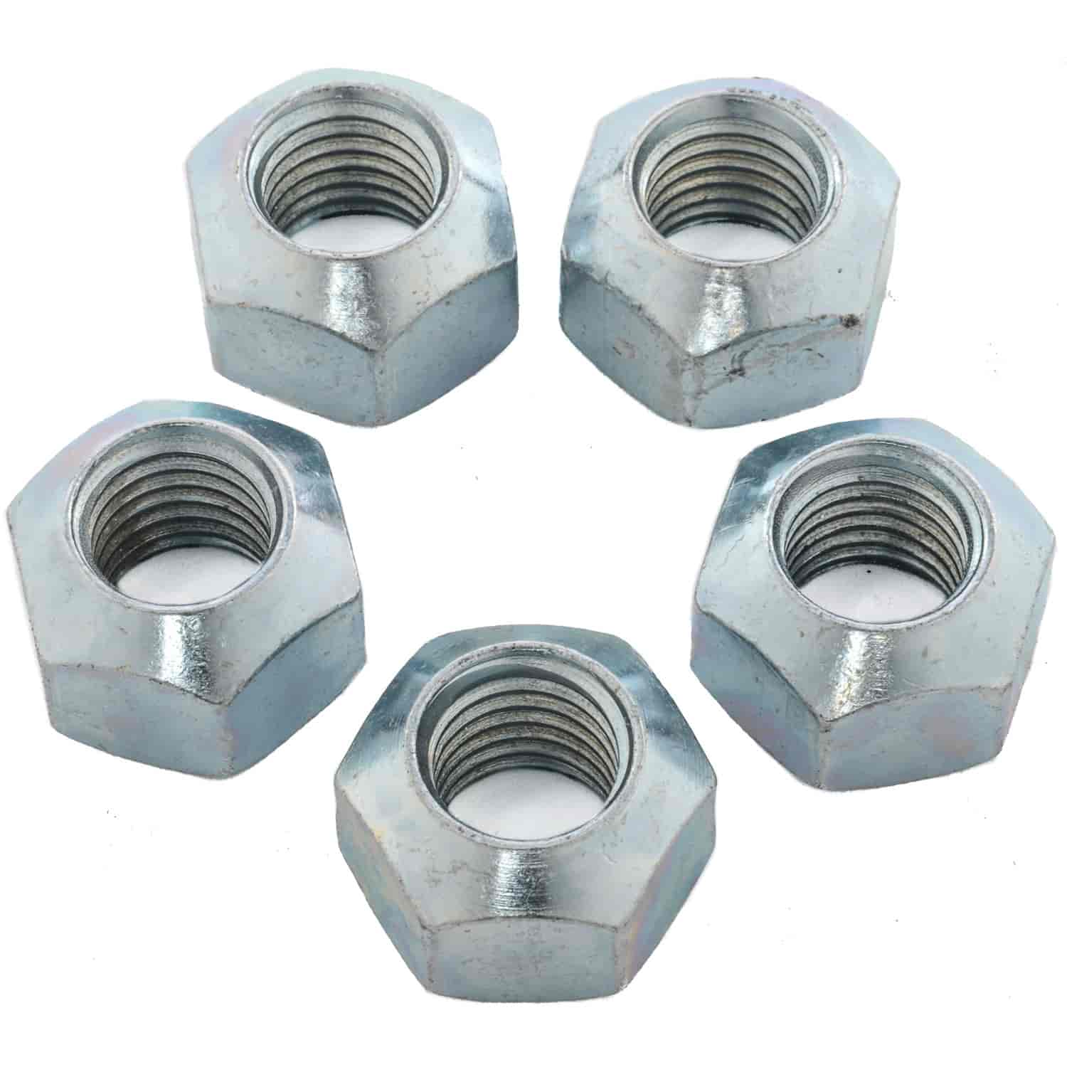 JEGS Performance Products 65173 - JEGS 1'' Hex Lug Nuts
