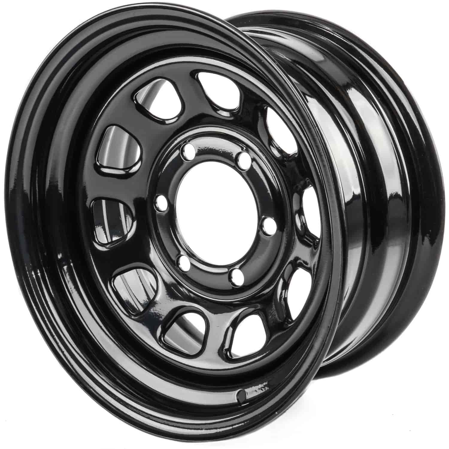 JEGS Performance Products 671004 - JEGS 'D' Window Steel Wheels
