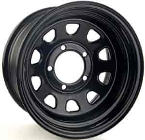 JEGS Performance Products 671002 - JEGS 'D' Window Steel Wheels