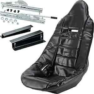 JEGS Performance Products 70200K - JEGS Pro High Back Race Seats and Seat Covers