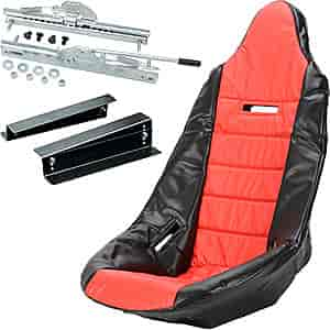JEGS Performance Products 70200K1 - JEGS Pro High Back Race Seats and Seat Covers