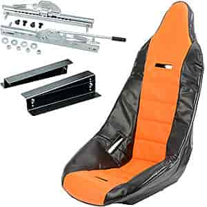 JEGS Performance Products 70200K4 - JEGS Pro High Back Race Seats and Seat Covers