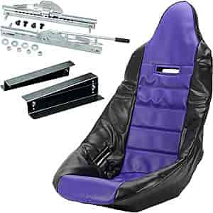JEGS Performance Products 70200K5 - JEGS Pro High Back Race Seats and Seat Covers
