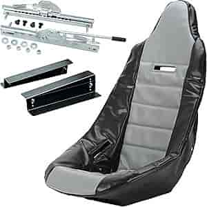 JEGS Performance Products 70200K6 - JEGS Pro High Back Race Seats and Seat Covers