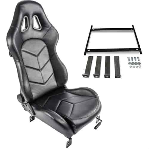 Jegs Performance Products 702100k Rs 1 High Back Sport Seat Kit
