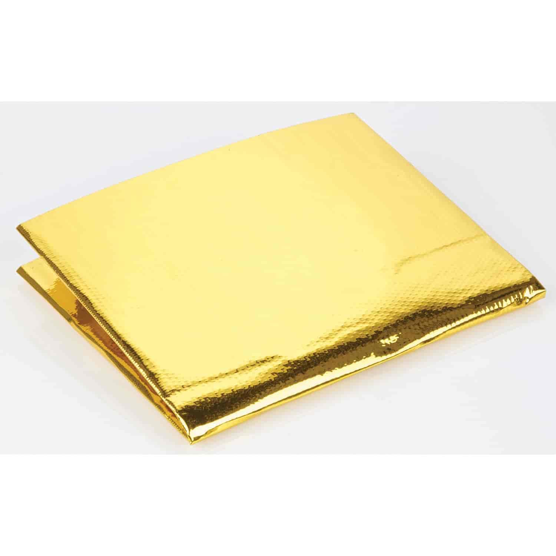 "Performance Reflect A Gold Exhaust Manifold Heat Wrap Reflective Sheet 12/"" x 24/"""