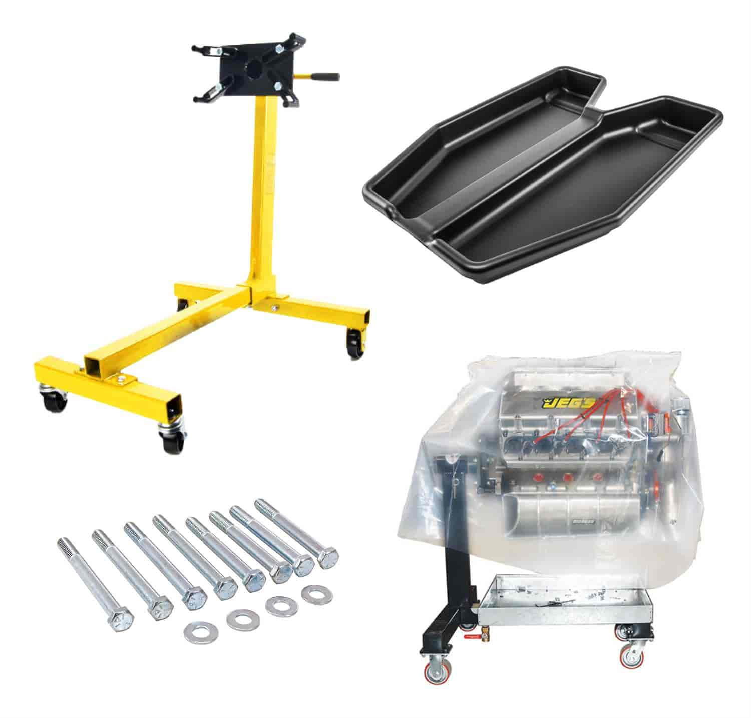 JEGS Performance Products 80040K1 - JEGS Engine Stands