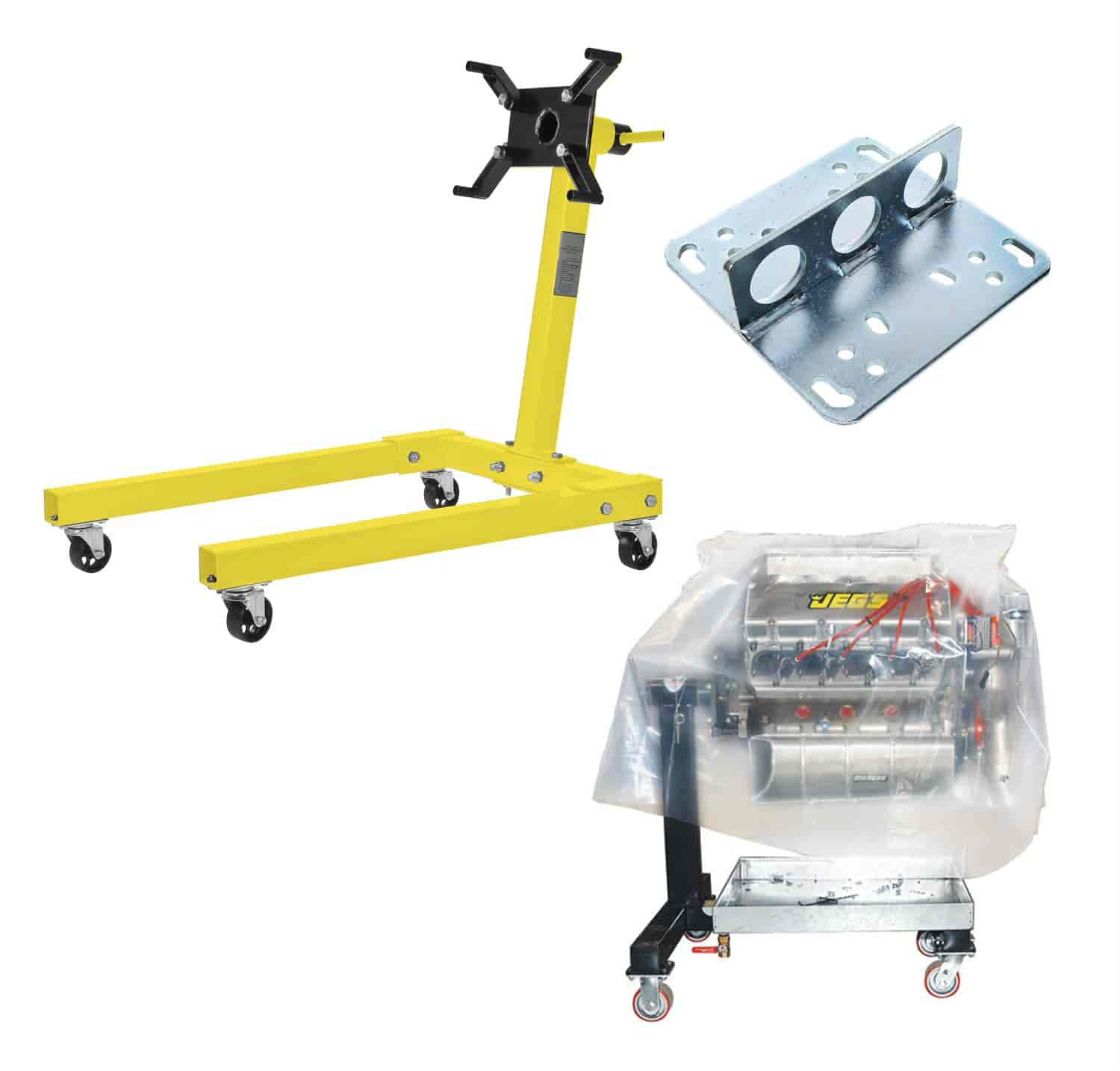 JEGS Performance Products 80041K - JEGS Engine Stands