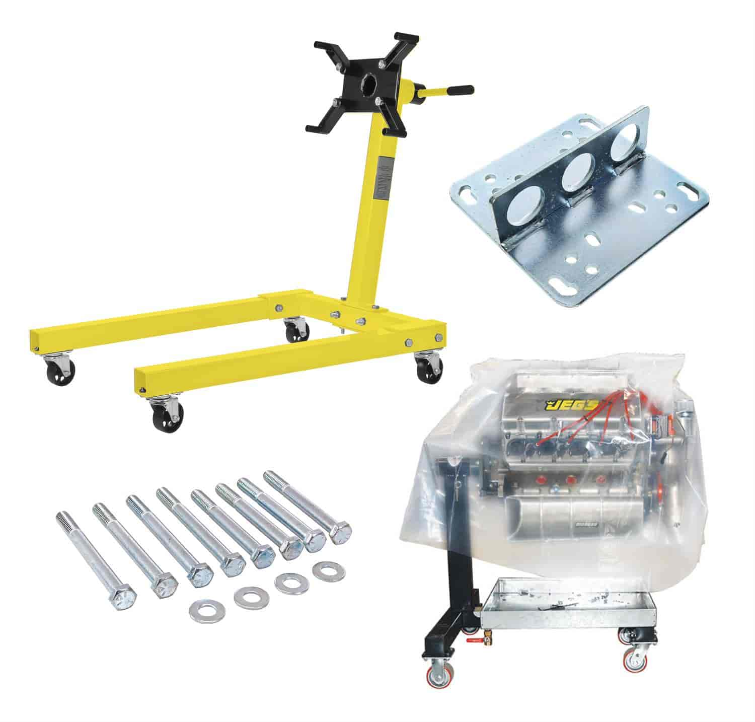 JEGS Performance Products 80041K1 - JEGS Engine Stands