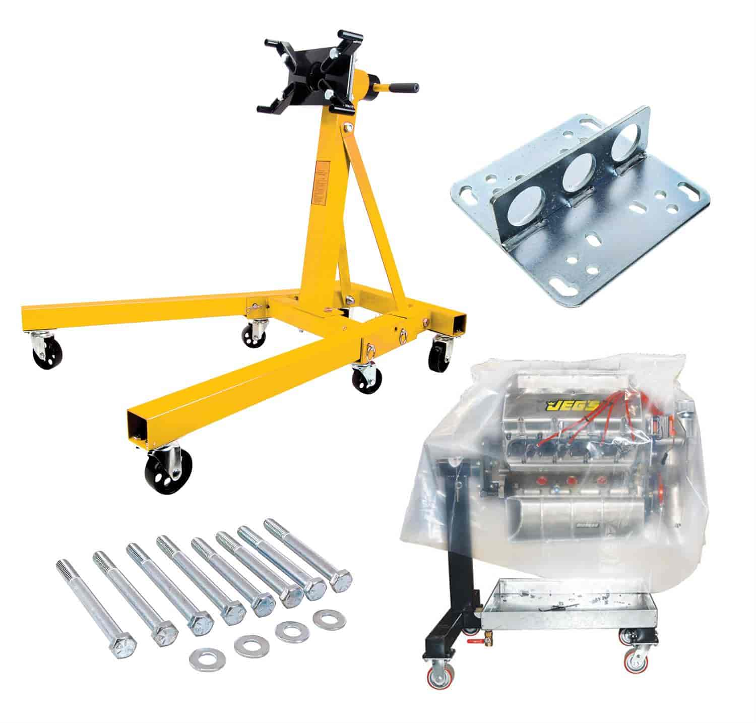 JEGS Performance Products 80042K - JEGS Engine Stands