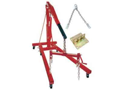 JEGS Performance Products 80046K - JEGS 1/2 to 2-Ton Engine Hoist