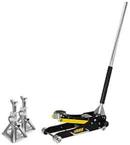 JEGS Performance Products 80067K - JEGS Aluminum Jack Stands