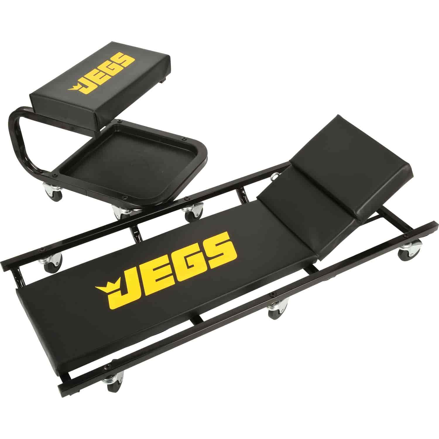 JEGS Performance Products 80069 - JEGS Creeper and Seat Set