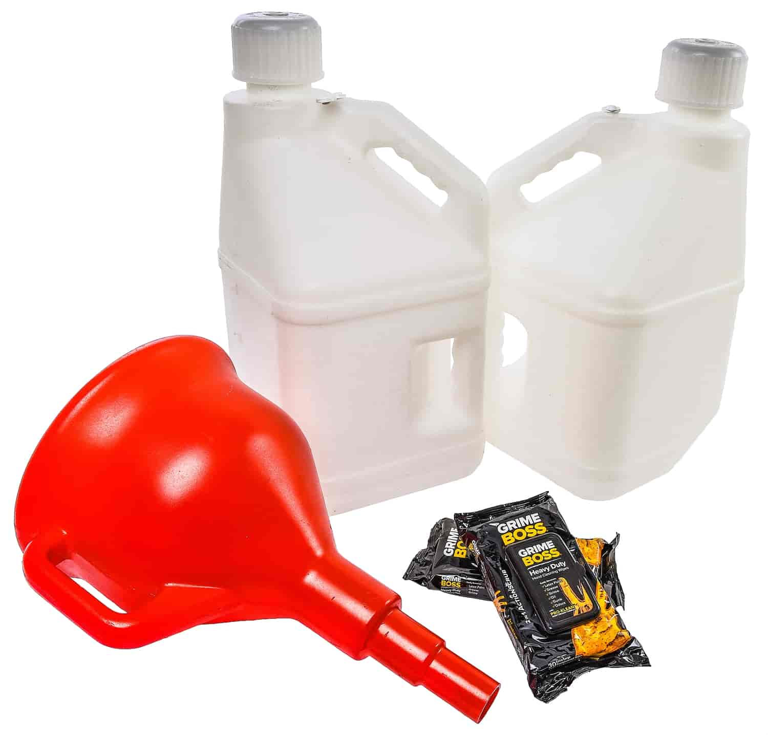 JEGS Performance Products 80210K - JEGS 5-Gallon Utility Jugs
