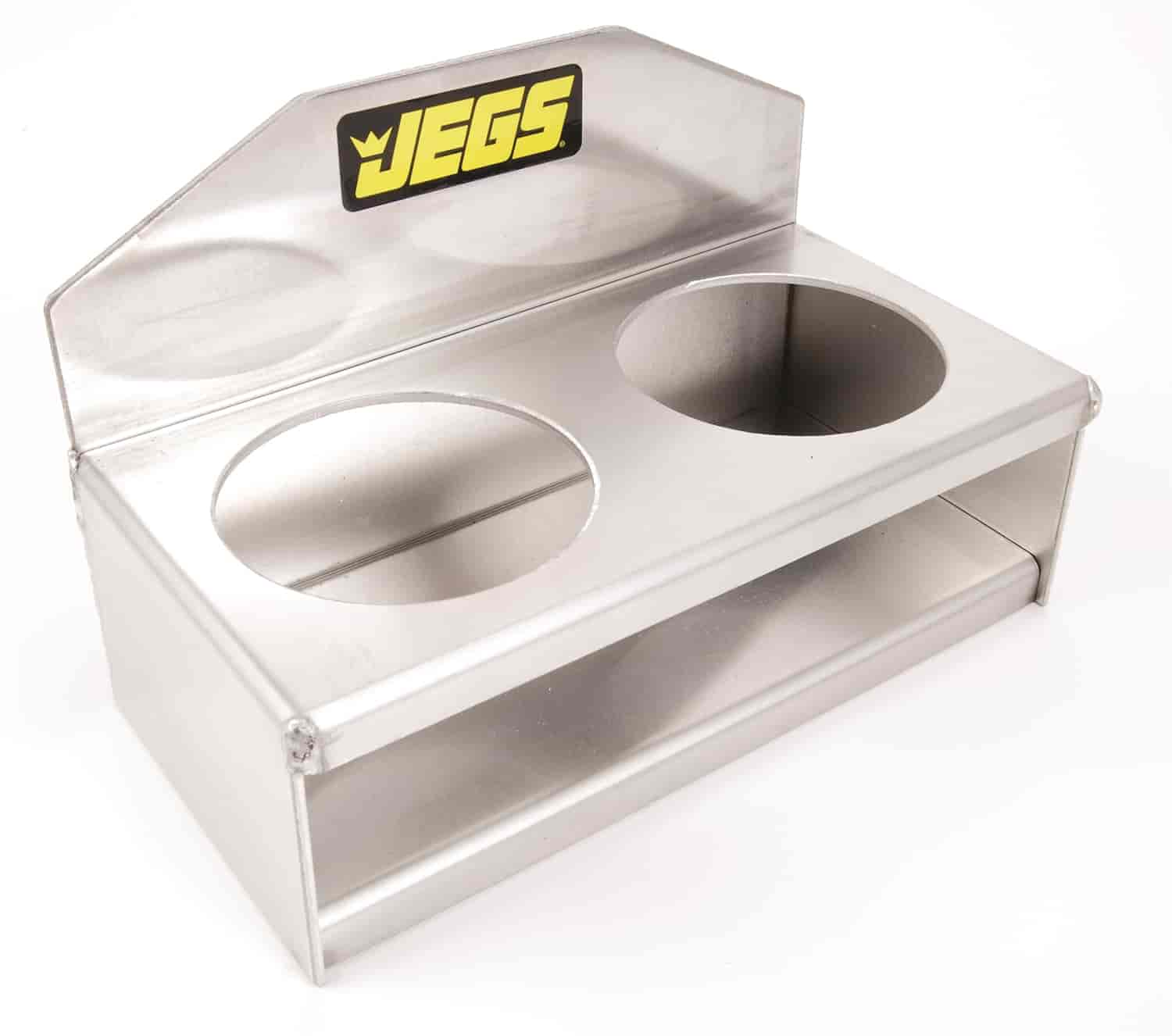 "JEGS Two-Cup Holder 3"" Diameter Holes"