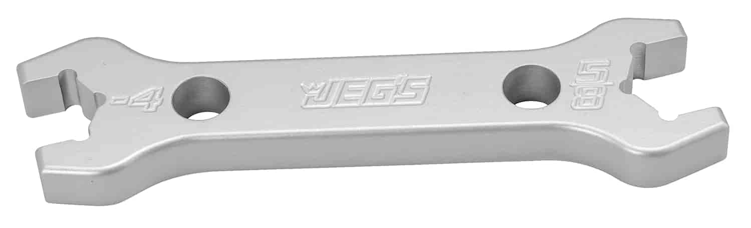 JEGS Performance Products 80650 - JEGS Combination AN - NPT Aluminum Wrenches