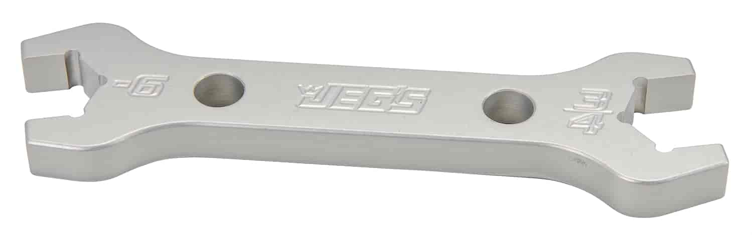 JEGS Performance Products 80651 - JEGS Combination AN - NPT Aluminum Wrenches