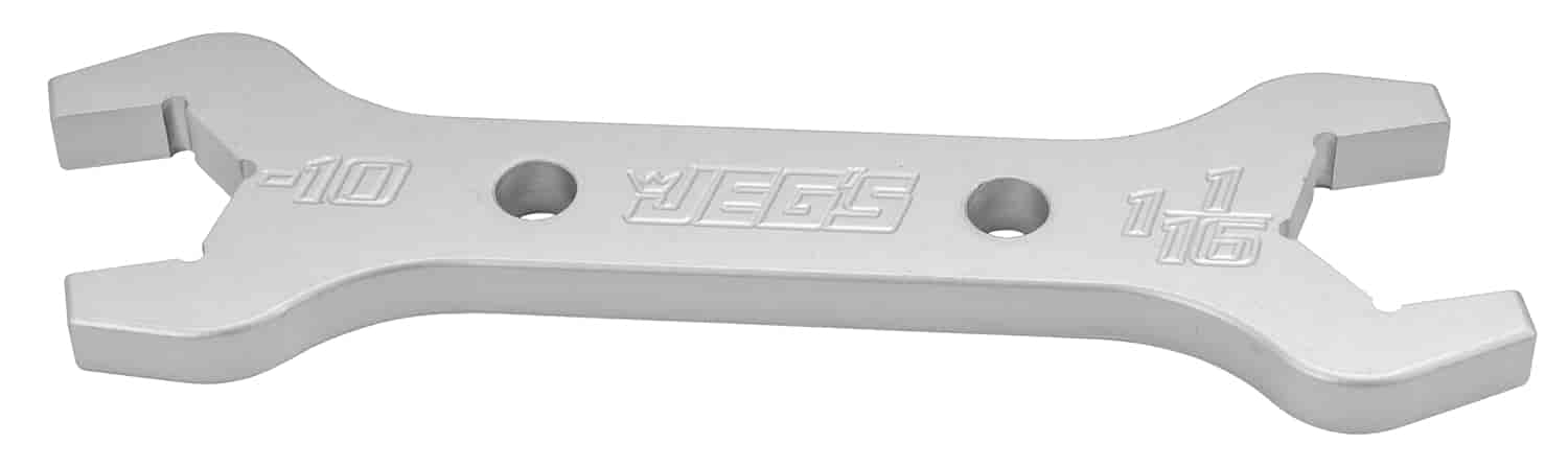 JEGS Performance Products 80653 - JEGS Combination AN - NPT Aluminum Wrenches