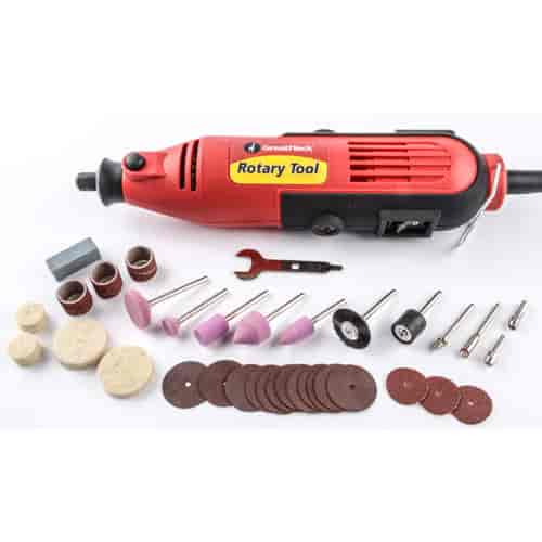 JEGS Performance Products 80820 - JEGS Rotary Tool with 35-Piece Accessory Kit