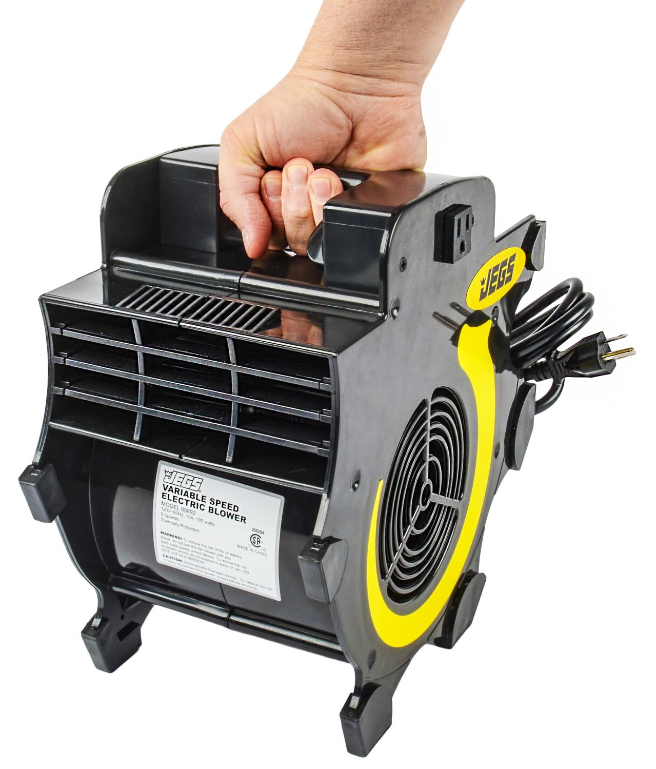 High Speed Blower Fans : Jegs performance products portable variable speed