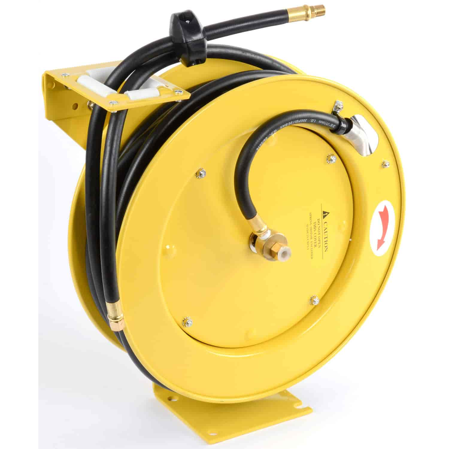 Jegs 81056 Retractable Air Hose Reel With 3 8 X 50 Rubber Wiring
