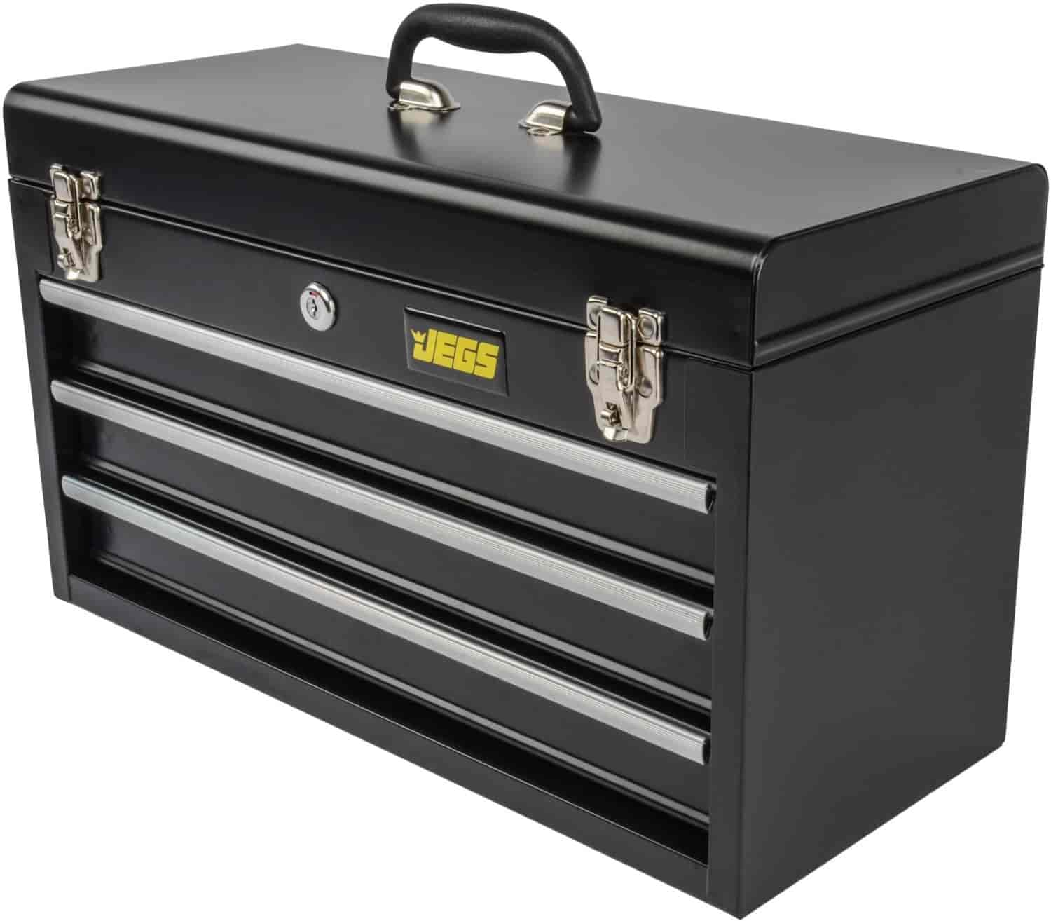Superior JEGS 3 Drawer Portable Toolbox. JEGS 81400