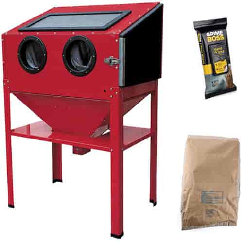 JEGS Performance Products 81500K - JEGS Vertical Sandblast Cabinet