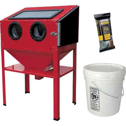 JEGS Performance Products 81500K1 - JEGS Vertical Sandblast Cabinet