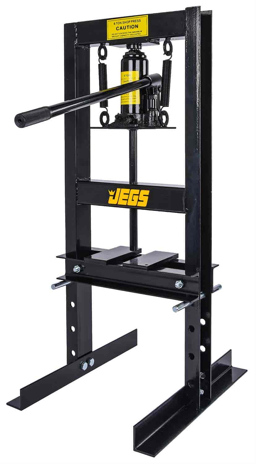 Jegs Performance Products 81518 Hydraulic Shop Press 6 Ton