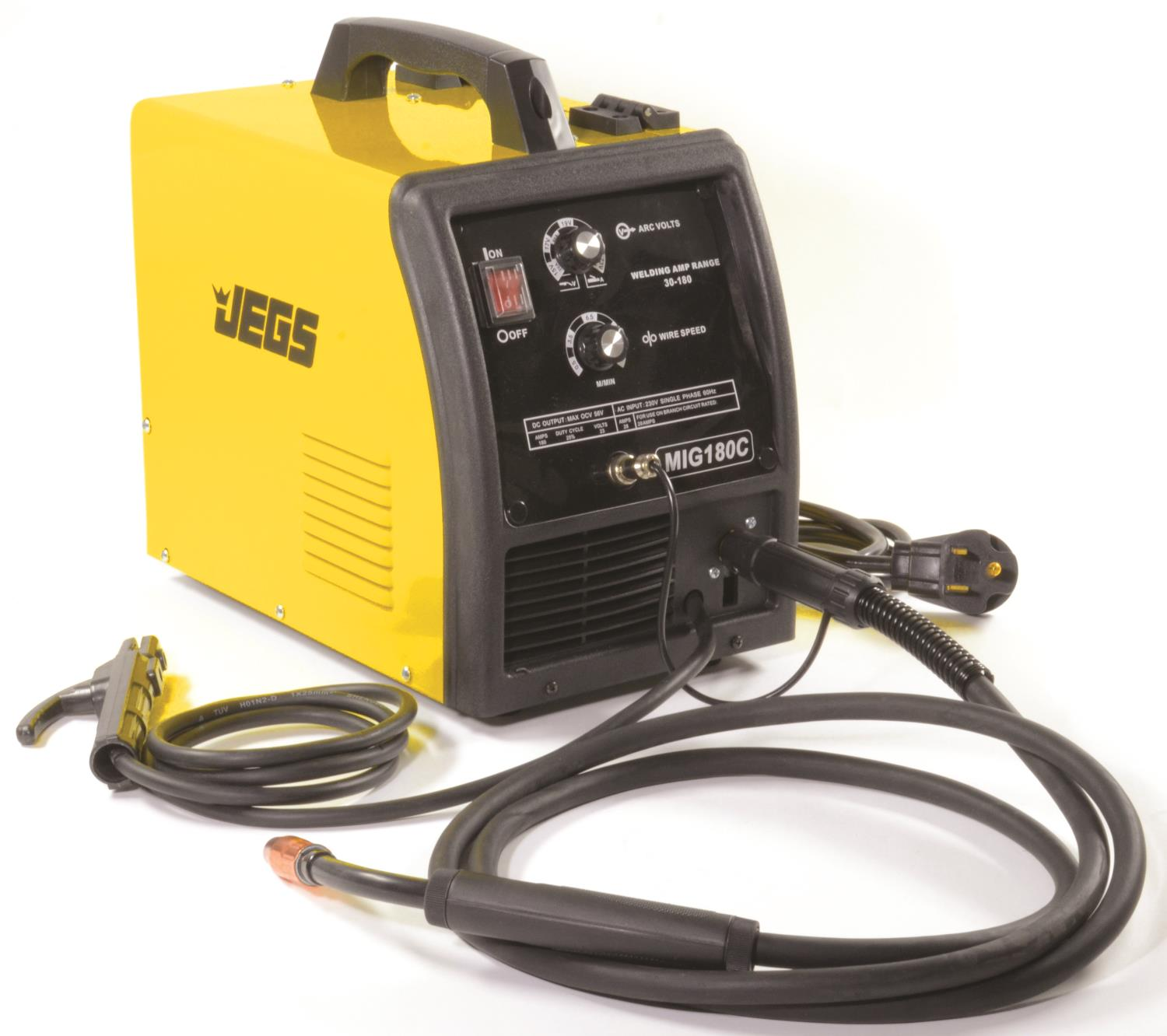 Jegs performance products 81541 migmmaarc 180 welder 220v ac jegs jegs 81541 asfbconference2016 Image collections