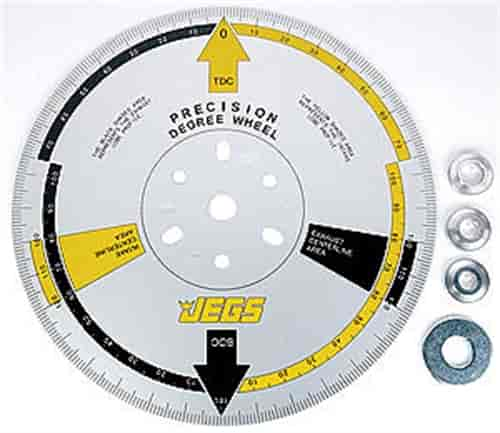JEGS Performance Products 81622 - JEGS Precision Cam Degree Wheel