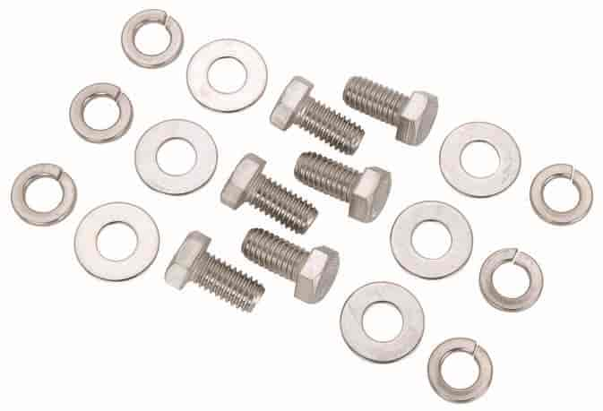 JEGS Performance Products 83115 - JEGS Stainless Motor Mount Bolts